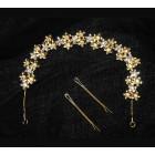 516104-201 Gold Bridal HairAccessories