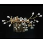 516111-401 Rose Gold Bridal Hair Comb