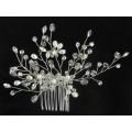 516113 Silver Bridal Hair Comb