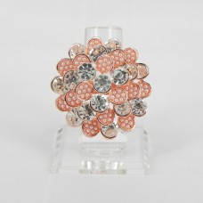 517309 Clear in Rose Gold Ring