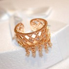517322 Rose Gold Adjustable Ring