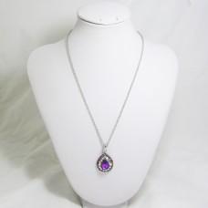 518086 purple  pendant
