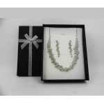 562100  Box for Necklace Set  in Black