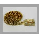 581003-201  Gold Rhinestone Belt