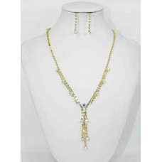 591300 Gold AB Necklace