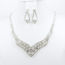 591400-101 Necklace set in Silver