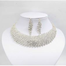 591468-101 Crystal Necklace Set