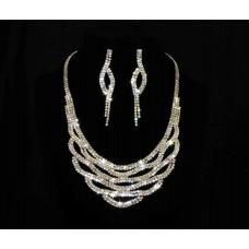 591483-209 Rose Gold Necklace Set