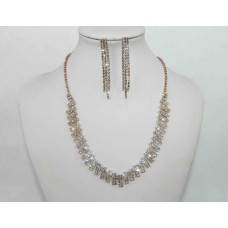 591484-209  Necklace Set in Rose Gold