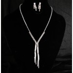 591497-101  Silver Necklace Set