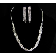 591499-101 Silver Necklace Set