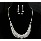 591500-101 Silver Necklace Set