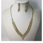 591502-201 Gold Necklace Set