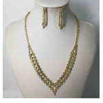 591502-201 Gold Necklace Set