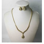 591503-201 Gold Necklace Set