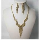 591506-201 Gold Necklace Set
