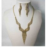 591506-201 Gold Necklace Set