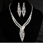 591507-101 Silver Necklace Set