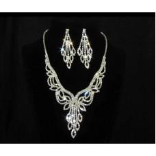591509-101 Silver Necklace Set