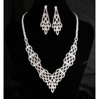 591511-101 New Rhinestone Necklace Set