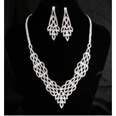 591511-101 New Rhinestone Necklace Set