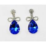 592372-115 Royal Blue Earring in Silver