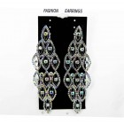 592390-101AB Fashion Earring in Silver AB
