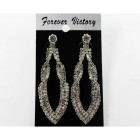 592509 101  Fashion Earring  in Silver