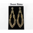 592509-201  Fashion Earring in Gold