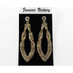 592509-201  Fashion Earring in Gold