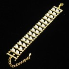 593011 gold  bracelet