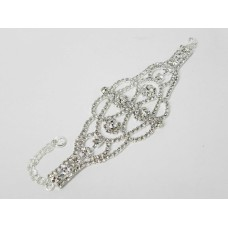 593152 Silver Bracelet with Rhinstone