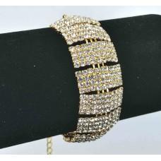 593170-201 Gold Clear Bracelet