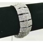 593170-101 Clear Silver Bracelet