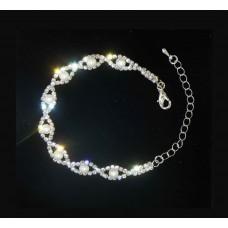 593173-101 Silver Bracelet & Pearl