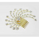 596011-201 Hair Comb in Gold