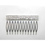 596142-101 Silver Hair Comb