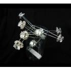 596144-101 Crystal Hair Pin