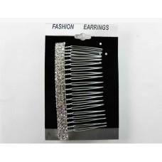 596148-101 Silver Hair Comb