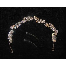 596173-209  Hair Piece in Rose Gold