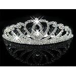 616049-101 Crystal Tiara comb