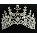 616053 Clear crystal in Silver Tiara