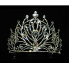 616056  Crystal Silver Tiara