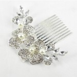 716019 Silver Hair Comb