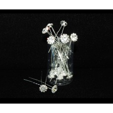 716206-101  CRYSTAL HAIR PIN (20 PCES)