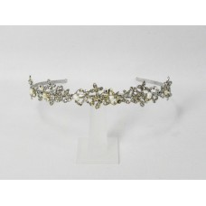 716320-101 Crystal Clear with Pearl Tiara