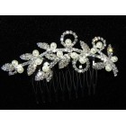 716326  HAIR COMB WITH PEARL