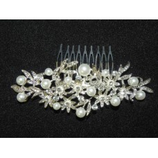 716333-101  Hair Comb with Pearl