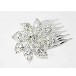 796035-101 Silver Hair Comb