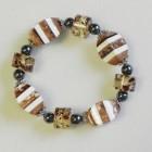 893047 brown  bracelet